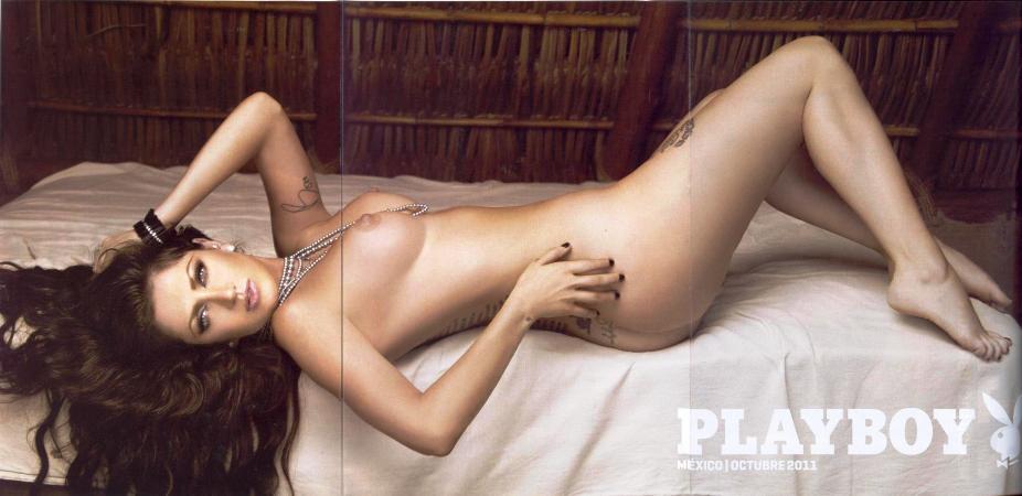 Fotos Celia Lora Revista Playboy Mexico Octubre 2011