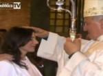 Confirmación católica de una estrella porno