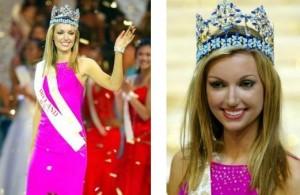 Rosana Davidson, la Miss Mundo que terminó en Playboy