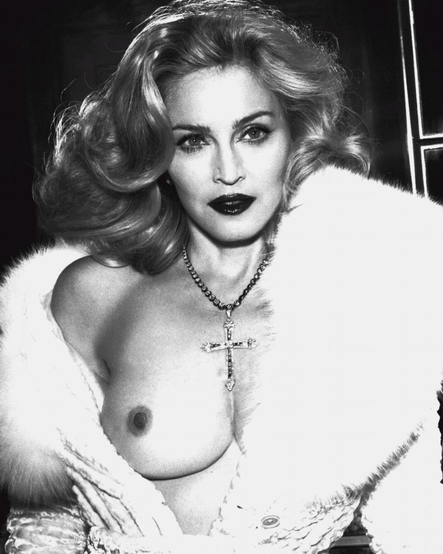 Madonna In The Nude