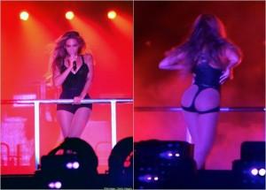 Beyonce enseñándonos el culo