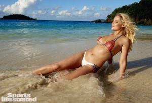 Genevieve Morton y su bodypainting para Sports Illustrated Swimsuit 2015