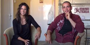 Alexa Tomas y Joel, pareja española