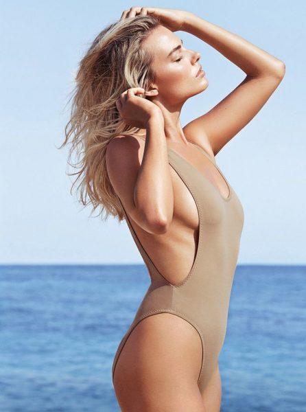 Margot Robbie posando muy sexy para Vanity Fair