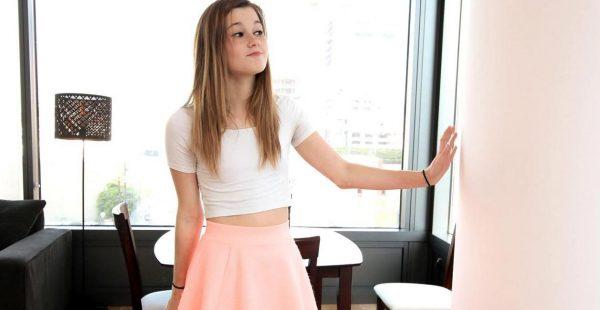 La pequeña Alaina Dawson