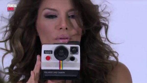 Ivonne Reyes posando muy sexy para Primera Línea