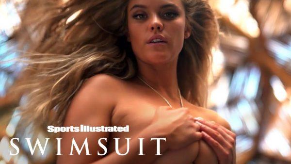 Nina Agdal posando para Sports Illustrated Swimsuit 2017