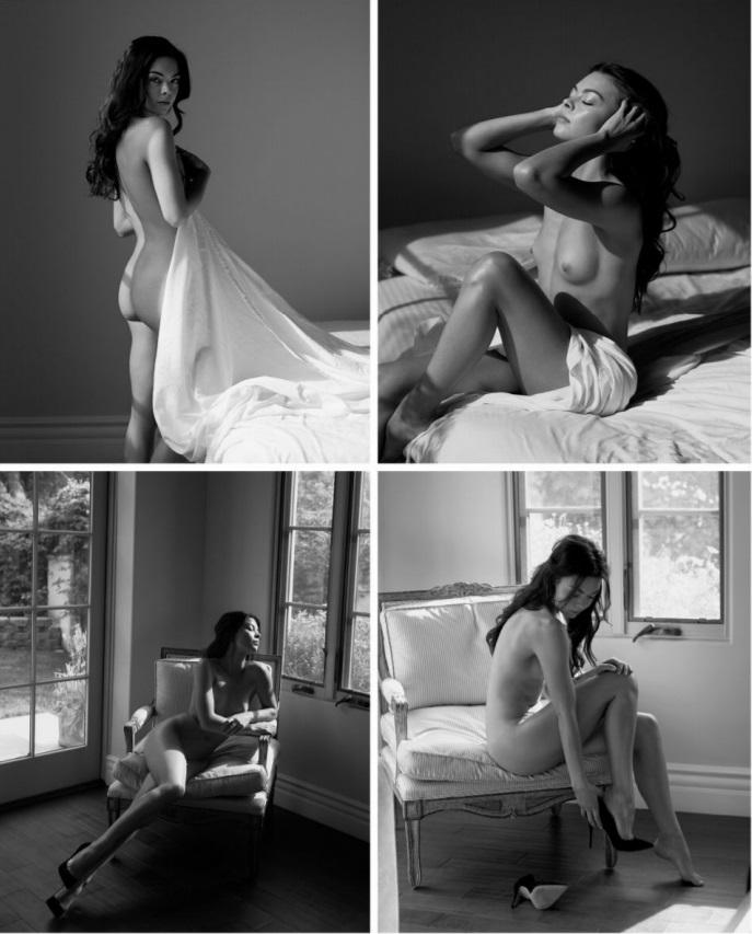 Scarlett Byrne (de Harry Potter) Desnuda en Playboy 2017