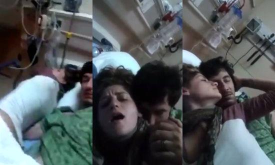 Paciente Follando en el Hospital