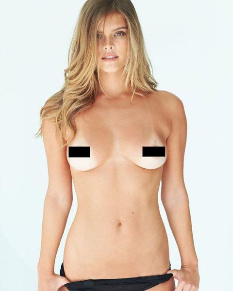 Nina Agdal en Topless por Frederic Pinet