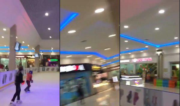 Porno el Centro Comercial de skating