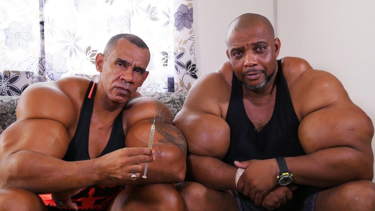 La Aberración de los hermanos Hulk y Conan