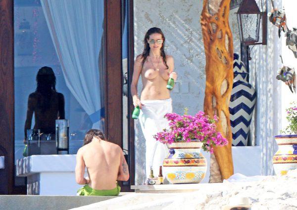 Los Topless de Heidi Klum en Cabo San lucas