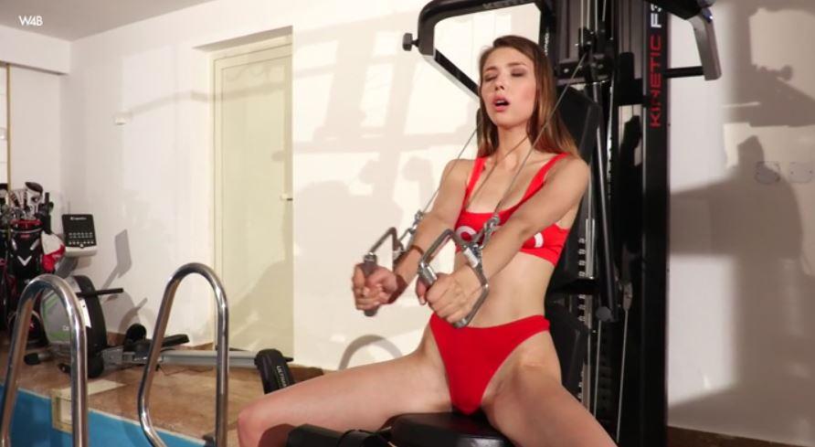 En el Gym con Mila Azul