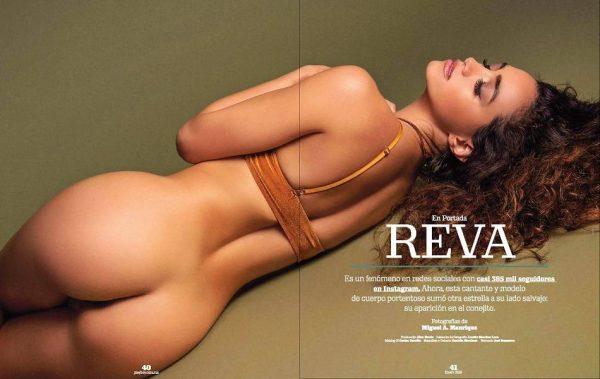 Renée Valeria desnuda posando para Playboy