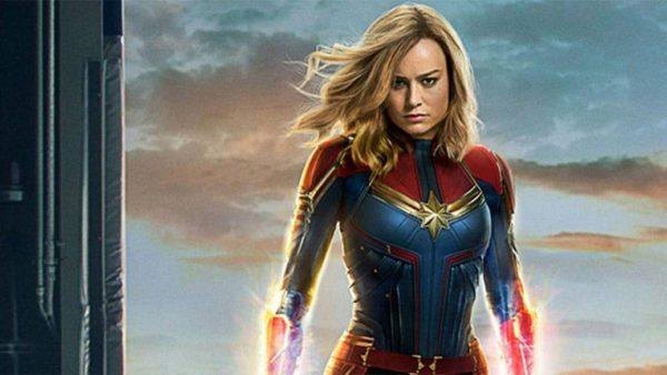 Brie Larson la Capitana Marvel Desnuda