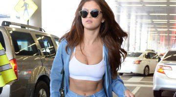 Selena Gomez en un Sexy Top Sport