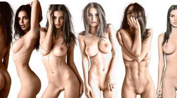 El Hermoso Collage de Emily Ratajkowski