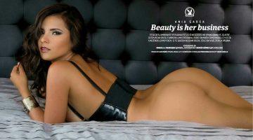 Ania Gadea en playboy México