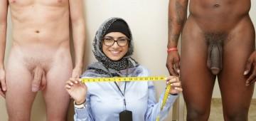 Mia Khalifa: Blanco vs Negro